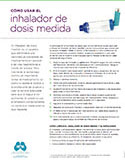 Image of the cover of the Spanish Asthma Tip Sheets