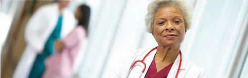 Picture of African American female healthcare professional