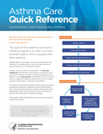Image of the cover of the Asthma Care Quick Reference