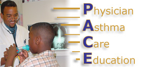 PACE (Physician Asthma Care Education) logo