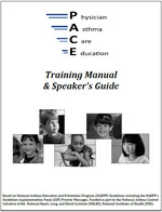 Image of the cover of the PACE Training Manual and Speaker's Guide