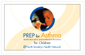 Woodhull Medical Center's current PREP card for asthma