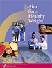 Cover of Aim for a Healthy Weight booklet