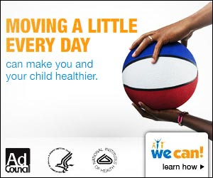Moving a little every day can make you and your child healthier.