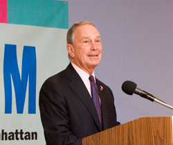 Photo of Michael R. Bloomberg, Mayor, New York City