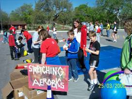 Photo of community activity with kids and parents