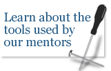 Learn aboout the tools used by our mentors
