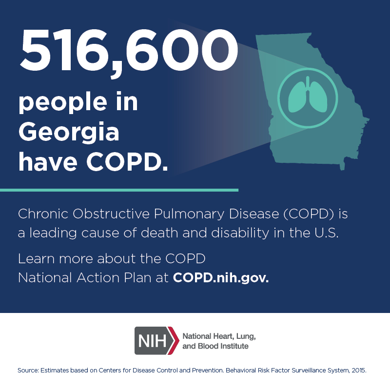 516,600 people in Georgia have COPD.