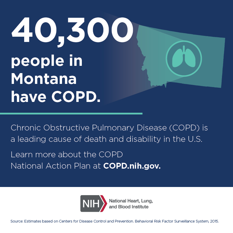 40,300 people in Montana have COPD.