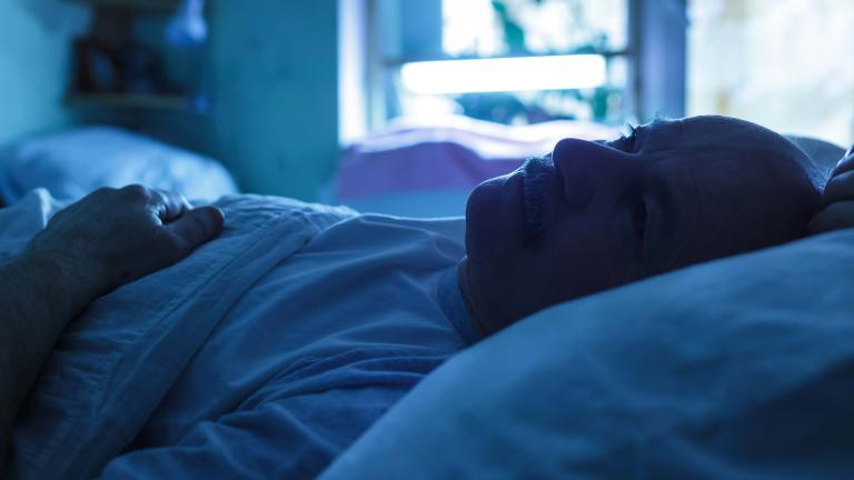 man sleeping Sleep Deprivation and Deficiency