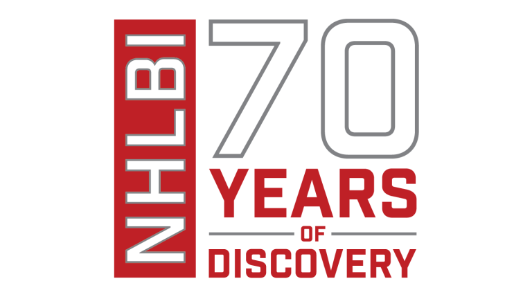 Lecture Series Logo: NHLBI 70 Years of Discovery