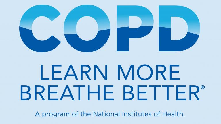 COPD Learn More Breathe Better. A program of the National Institutes of Health.