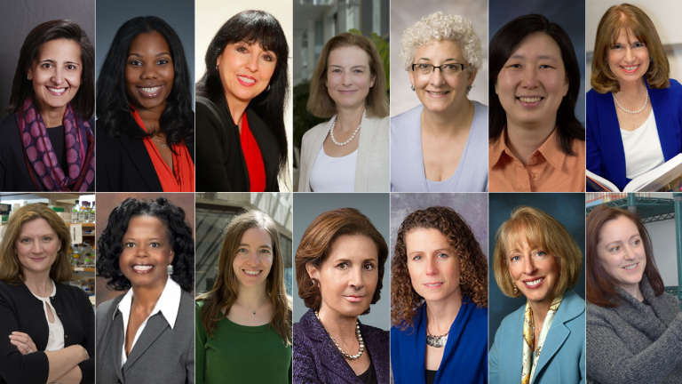 Collage of NHLBI women scientists
