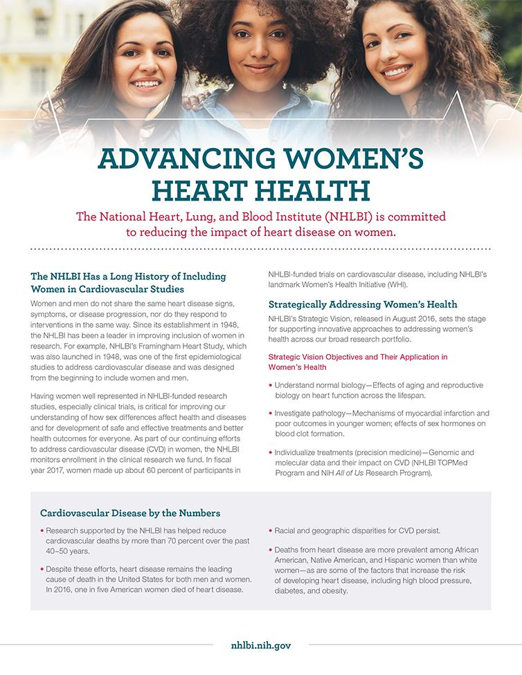 Advancing Women's Heart Health