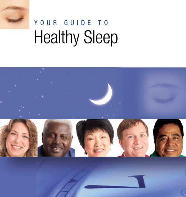 Cover of your guide to healthy sleep