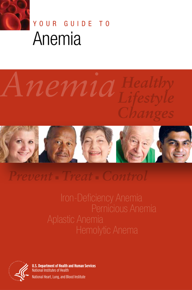 Your Guide to Anemia cover