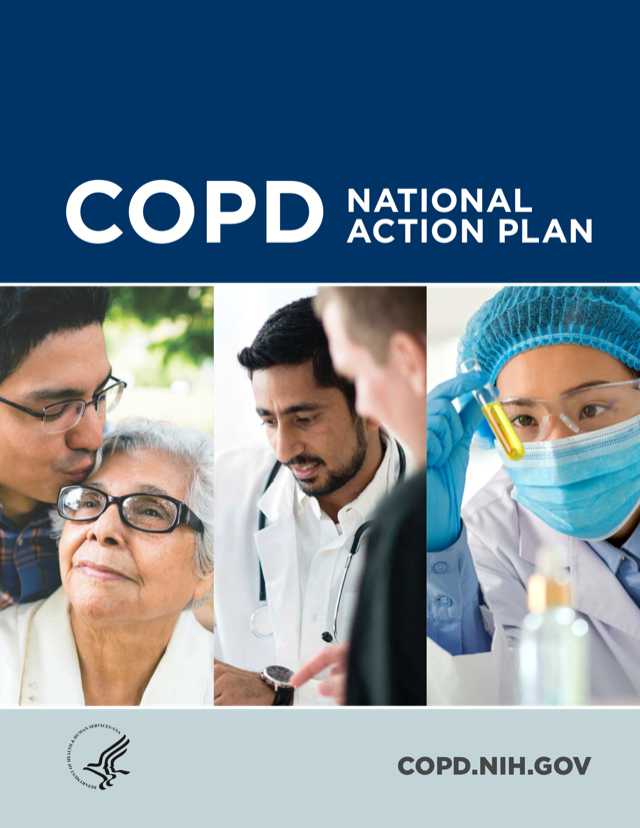 Cover of COPD National Action Plan by COPD.NIH.GOV