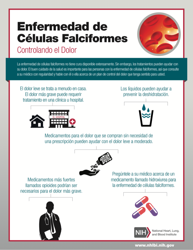 Sickle Cell Disease: Managing Pain/Controlando el Dolor (Spanish)