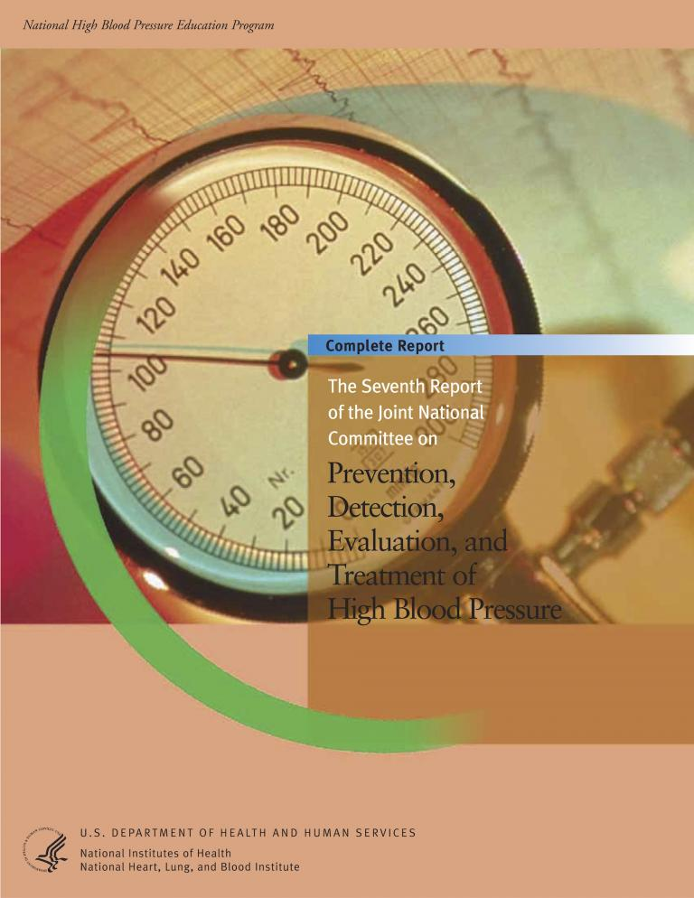 Cover of the guidelines report